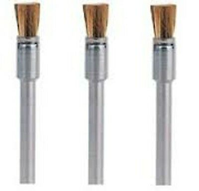 Dremel 537 3.2MM END SHAPE BRASS BRUSH x 3
