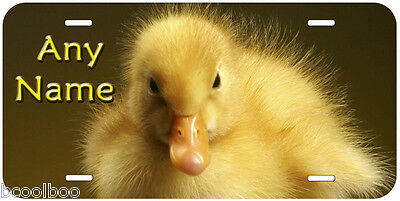 Duck Baby Aluminum Any Name Personalized Tag Novelty Car Auto License Plate