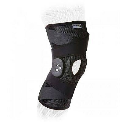 PhysioRoom Elite Hinged Knee Brace Injury Treatment Support Pain Relief