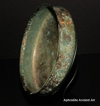 Aphrodite-Ancient Archaic Greek Bowl