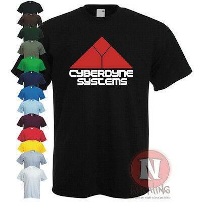 CYBERDYNE SYSTEMS t-shirt TERMINATOR cool movie Teeshirt Skynet