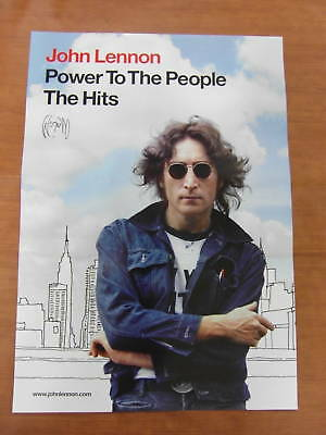 JOHN LENNON - Power To The People [OFFICIAL] POSTER