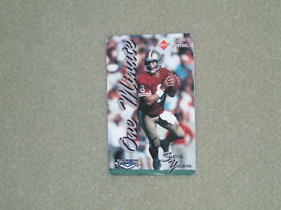 STEVE YOUNG- CLASSIC Assets/Sprint Phone Card-1994