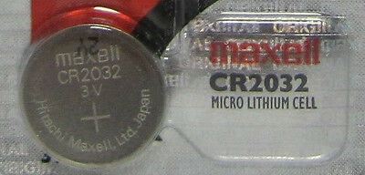 Maxell CR2032 2032 DL2032 Lithium Battery Coin Cell