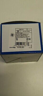 Cs8175N 50A 480V 3 Phase Male Flanged Inlet Hubbell New In Box