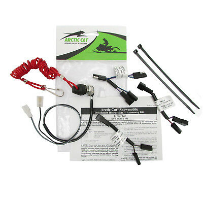 Arctic Cat New OE Ignition Safety Kill Switch Tether Lanyard Kit M CF F 4639-140