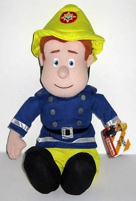 """Fireman Sam Soft Toy - 17"""" - Brand NEW with tags"""