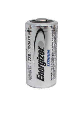 Energizer Cr123A Cr 123A 123 3V Lithium Battery