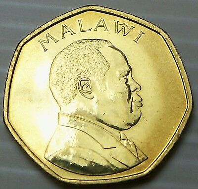 Malawi - 1996 50 Tambala - KM30 - One Year Type - UNC Condition