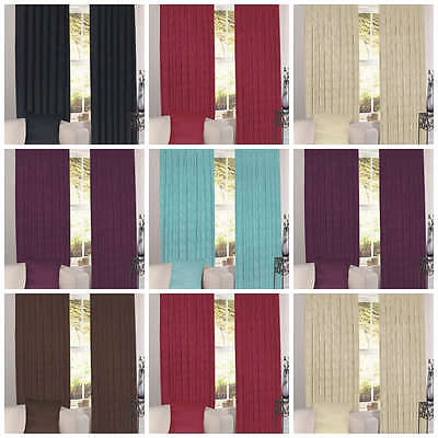 Grace Blackout Thermal Lined Backed Ready Made Curtains