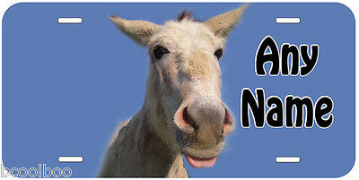 Donkey Animal Any Name Personalized Novelty Auto Tag License Plate