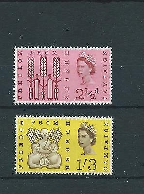 wbc. - GB - MOUNTED MINT - COMMEMS - 1963 - FREEDOM FROM HUNGER