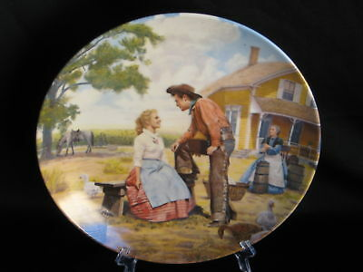Knowles Oklahoma Beautiful Mornin' Collector's Plate