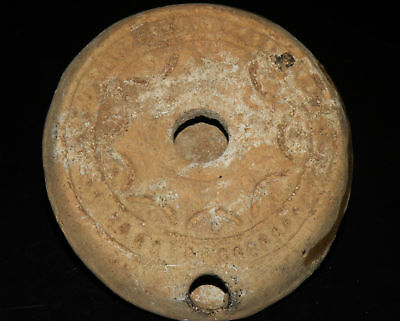 Aphrodite- Ancient Roman-Egyptian Decorated Oil Lamp