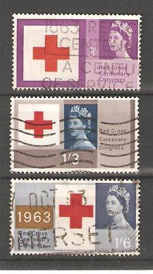 Commems - 1963 - Red Cross Congress - Commercially Used