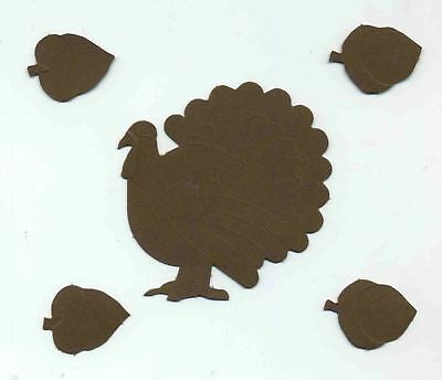 Creative Memories Turkey & Acorns Die Cut Bn & Nla