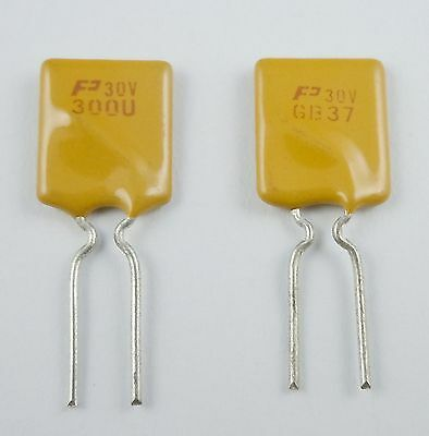 10Pcs New PolySwitch Resettable Fuse 30V 3A