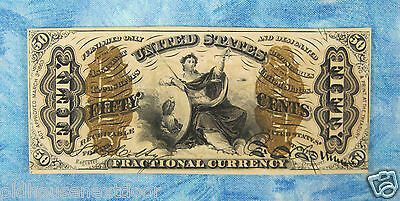 U.S. Fractional-1343 Currency, 3rd Issue, 50 cents, 1863,  (p-133)