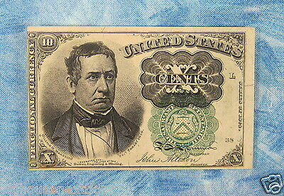 U.S. Fractional-1264 Currency, 5th Issue, 10 cents, 1874,  (p-137)