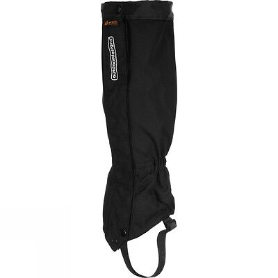 Mens Outdoordesigns Perma Gaiters Blk & Red - Med & Lrg