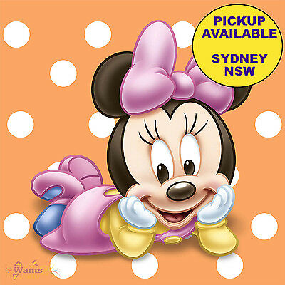 Minnie Mouse 1St Birthday Party Supplies 16 Small Beverage Paper Napkins