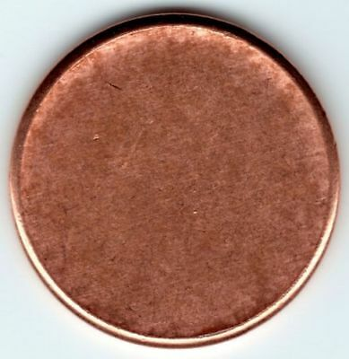 Blank Lincoln Penny Planchet mint Error Coin  VERY COOL