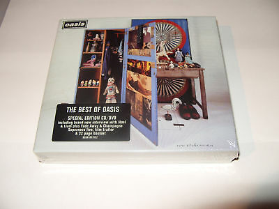Oasis Stop The Clocks Special Edition 2 cd + dvd New & Sealed