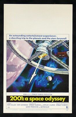 2001: A Space Odyssey * Orig Wc Movie Poster 1968