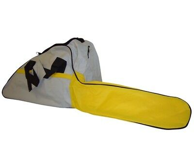 Chainsaw Carry Case Bar Cover Chain Bag Yellow Grey