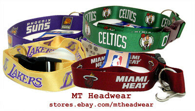 OFFICIAL LICENSED NBA LANYARD KEYCHAIN ***MULTI TEAM***