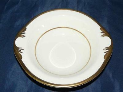 Pope Gosser Pembroke Coin Gold Lugged Cereal Bowl