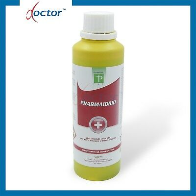 PHARMAIODIO DISINFETTANTE PER CUTE A BASE DI IODIO 10% 125 ml - IODOPOVIDONE