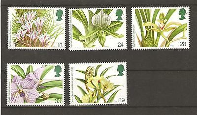 World Orchid Conference - 1993 Unmounted. Mint Set