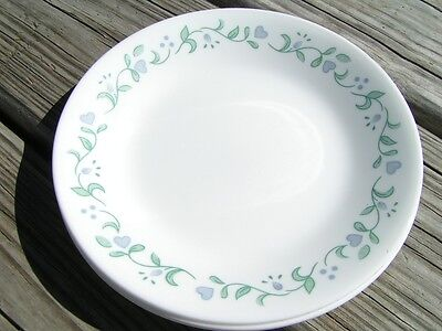 Country Cottage by Corelle Corning LOT 5 BREAD PLATES
