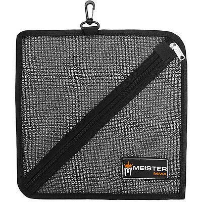 MEISTER HAND WRAP WASH BAG w/ BAG CLIP - Laundry MMA Handwraps Boxing Gym Bag