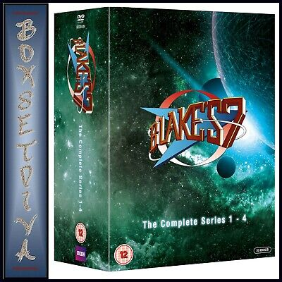 Blakes 7  - Complete Collection Series 1 2 3 & 4 - ***Brand New Dvd Boxset **