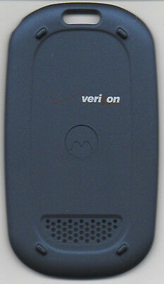 New Battery Door Back Motorola W315 Cover Blue