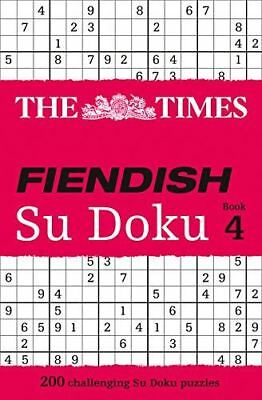 The Times Fiendish Su Doku: Bk. 4 by Puzzler Media