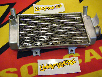CR 125cc Radiator Right Side