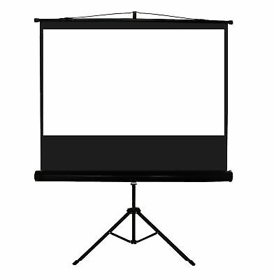 "New 100"" 4:3 Tripod Portable Projection Projector Screen"