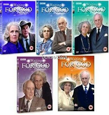 Waiting For God - Complete Seasons 1 2 3 4 & 5 -  Brand New Dvd Collection