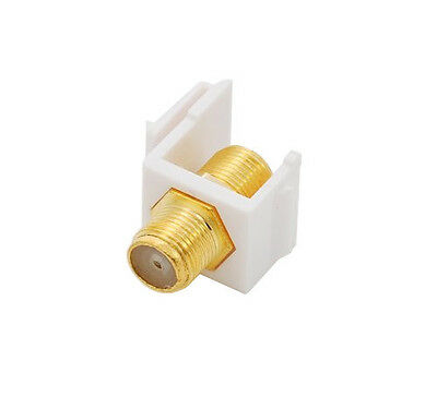 F-Type keystone coupler- others available