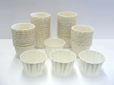250 CT. 2oz Disposable Paper Portion Cups Demo souffle
