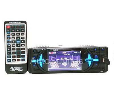 """ABSOLUTE DMR410T DVD/CD/MP3 PLAYER 4"""" LCD TV TUNER"""