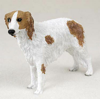Borzoi Hand Painted Dog Figurine Statue