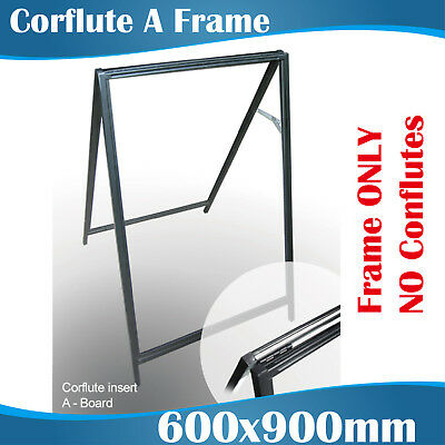 Corflute A Frame A Boards Sandwich Board A Boards with two Corflute Boards