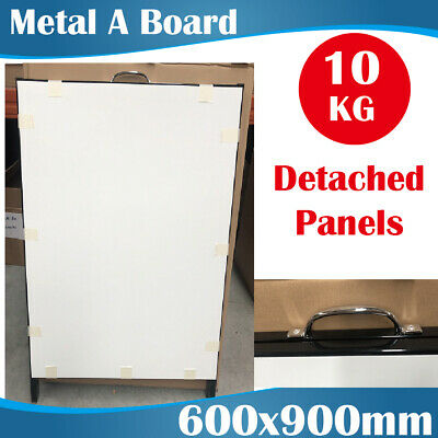 WHITEBOARD Metal A Frames Signs Double Sided A Board A Boards 600x900mm