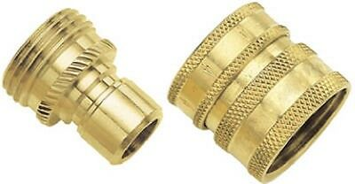 Green Thumb 09QCGT HEAVY DUTY BRASS HOSE QUICK CONNECTOR