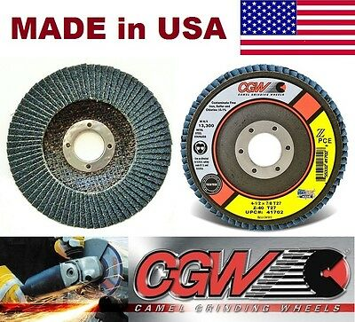 4-1/2 x7/8 Premium Zirconia Flap Disc Grinding Wheel-10