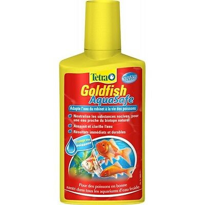TETRA GOLDFISH AQUASAFE POISSON ROUGE 100 ml